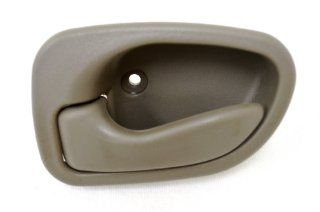 PT Auto Warehouse HY 2230E FL   Inside Interior Inner Door Handle, Beige/Tan   Driver Side Automotive