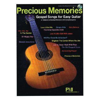 Precious Memories Gospel Songs For Easy Guitar (Book/Cd) Hal Leonard Corp. 9781423497707 Books
