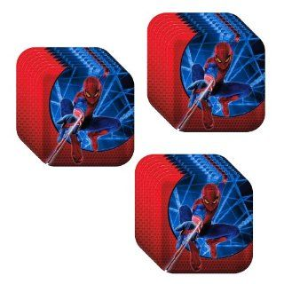 The Amazing Spider Man Party Lunch/Dinner Plates   24 Guests Toys & Games