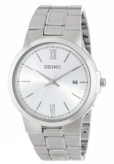 Seiko Men's SGEG41 Classic Stainless Steel Watch Watches