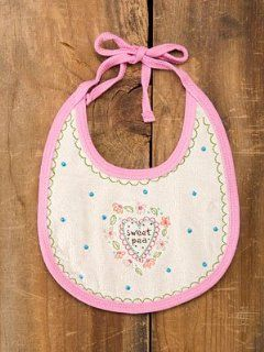 Sweet Pea Baby Bib By Natural Life  Baby