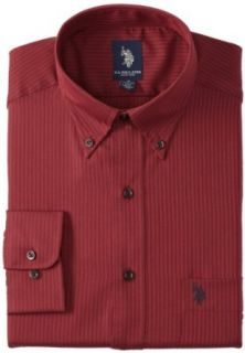 U.S. Polo Assn. Men's Cranberry, Burgundy, 16 16.5/34 35 at  Men�s Clothing store