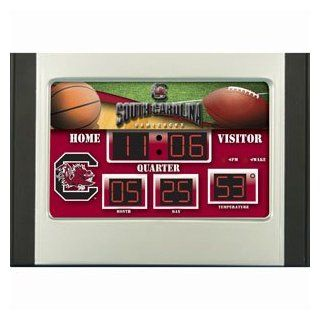 South Carolina Gamecocks Scoreboard Desk & Alarm Clock  Sports Fan Alarm Clocks  Sports & Outdoors