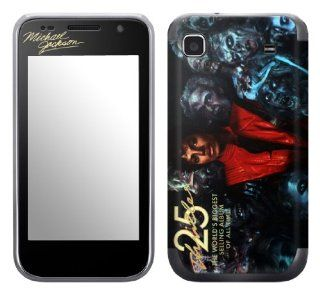 MusicSkins, MS MJ30275, Michael Jackson   Thriller 25, Samsung Galaxy S 4G (SGH T959V), Skin Cell Phones & Accessories