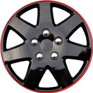 "Drive Accessories KT 962 15IB+R, Toyota Paseo, 15"" Ice Black Replica Wheel Cover, (Set of 4) Automotive"