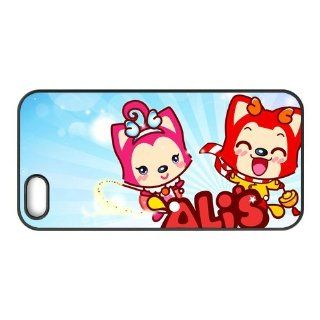 Fashion Custom Case Cover Cases Ali the fox for iPhone 5 (TPU) EWP Cover 6292 Cell Phones & Accessories