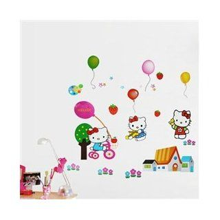 Hello Kity kids Cartoon Wall Sticker Wall Decal Video Games