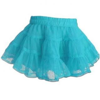 Baby Boutique Girls Bright Blue Tutu Skirt, Blue, Size 10/12 Infant And Toddler Skirts Clothing