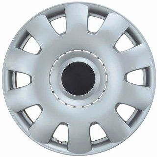 "Drive Accessories KT 986 15S/BK, Volkswagen Passat, 15"" Silver w/ Black Center Replica Wheel Cover, (Set of 4) Automotive"