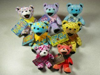 Grateful Dead ultimate bear collection dancing bear dolls stuffed toys  Other Products