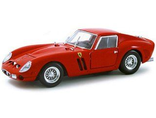 1962 Ferrari 250 GTO diecast model car 118 scale diecast by Hot Wheels   Red 23912 Toys & Games