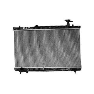 TYC 2389 Hyundai Santa Fe 1 Row Plastic Aluminum Replacement Radiator Automotive