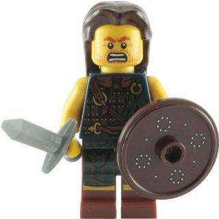 Lego Collectable Minifigures Scottish Highland Battler Minifigure   Series 6 Toys & Games