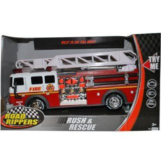 Road Rippers Rush & Rescue Fire Truck Engine 3 Toys & Games