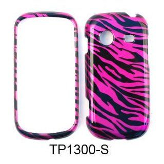 CELL PHONE CASE COVER FOR SAMSUNG CHARACTER R640 TRANS HOT PINK ZEBRA PRINT Cell Phones & Accessories