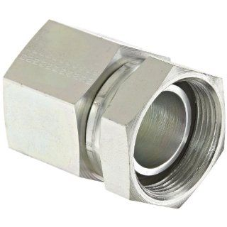 "Eaton Aeroquip 2046 20 20S Steel Pipe Fitting, Adapter, 1 1/4"" NPSM Female x 1 1/4"" NPT Female Industrial Pipe Fittings"
