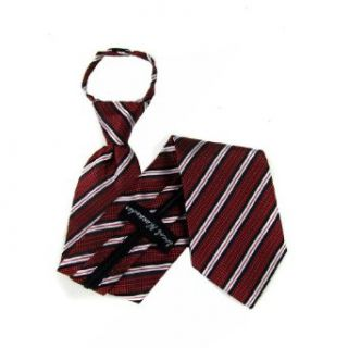 Red   Black   Silver Fashion Zipper Tie at  Men�s Clothing store Neckties