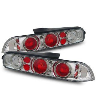 Acura Integra Chrome Tail Lights G2   Fits All Automotive