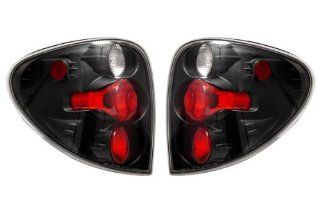 Chrysler Town & Country Black Tail Lights   Fits All Automotive