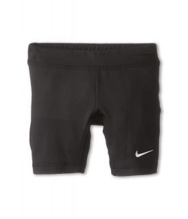 Nike Kids Dri Fit Skinny Fit Boy Short Girls Shorts (Black)