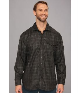 Tommy Bahama Big & Tall Big Tall Cambridge Cruiser Shirt Jacket Mens Long Sleeve Button Up (Gray)