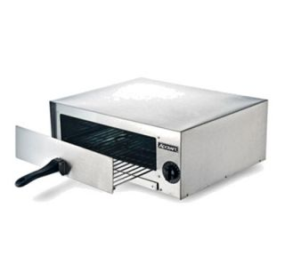 Adcraft Single Deck Electric Countertop Pizza Oven, 120v