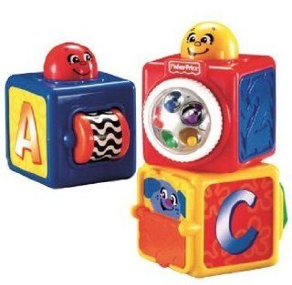 Toy / Play Fisher Price Bright Beginnings Stacking Action Blocks, handy, manny, toys, sale, jumperoo Game / Kid / Child Toys & Games