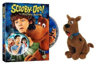 Scooby Doo The Mystery Begins (with Ty Scooby Doo Plush) Frank Welker, Nick Palatas, Robbie Amell, Hayley Kiyoko, Kate Melton, Gary Chalk, Shawn McDonald, C. Ernst Harth, scoobydoo toy action figure 1969 original serie 13 thirteen ghosts of soundtrack Ne