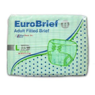 Nava Group 5299 EuroBrief Disposable Brief   Large Health & Personal Care