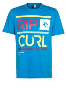Rip Curl   DOUBLE UP   Print T shirt   blue