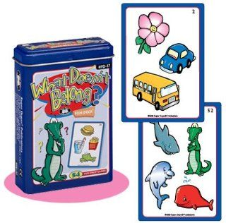What Doesn't Belong? Fun Deck Cards   Super Duper Educational Learning Toy for Kids Toys & Games