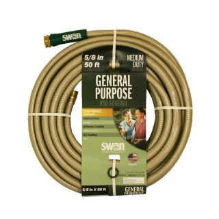 SWAN 5/8 in x 50 ft Medium Duty Garden Hose