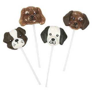Dog Shaped Suckers   Candy & Suckers & Lollipops  Grocery & Gourmet Food