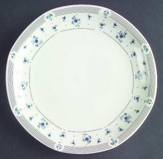 Royal Doulton Calico Blue Bread & Butter Plate, Fine China Dinnerware   Fine Chi