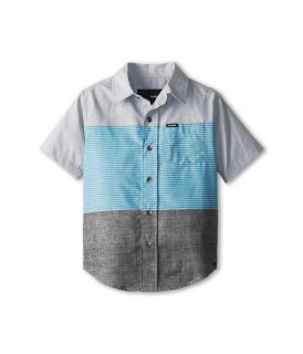 Hurley Kids Blockade S/S Woven Top Boys Short Sleeve Button Up (Multi)