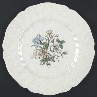 Royal Doulton Sutherland Dinner Plate, Fine China Dinnerware   Multicolor Floral