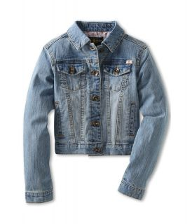 Lucky Brand Kids Sabrina Stretch Denim Jacket Girls Jacket (Blue)