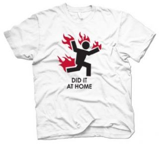 Did it at home T shirt S mens at  Men�s Clothing store