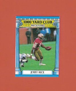 Jerry Rice 1987 Topps Football 1000 Yard Club #2 (San Francisco 49ers) at 's Sports Collectibles Store