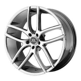 "Lorenzo WL035 Wheel with Machined Face (18x8""/5x112mm) Automotive"