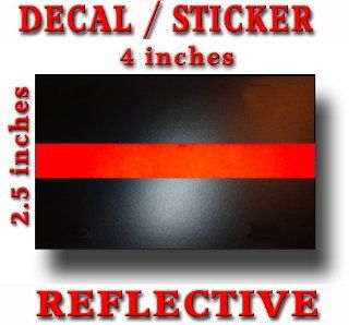 Thin Red Line Decal Sticker