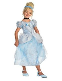 baby girls   Cinderella Deluxe Toddler Costume 3T 4T Halloween Costume Clothing