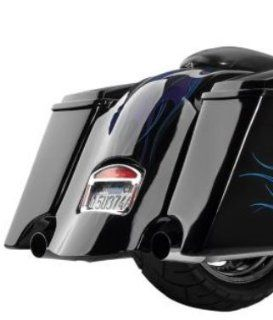 Cyclevisions Extended Rear Fender W/ Cutouts For 97 08 FLHT FLHR FLHX FLTR (Except 07 08 FLHRSE) (CONT) Cover For Harley Davidson (ZZ 1401 0311) Automotive