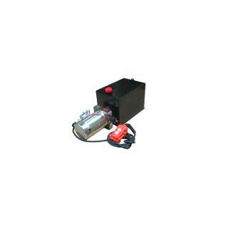 Hydraulic Power Units (12V DC, Single Acting). Solenoid Operation. Power Up and Gravity Down except where noted. 1.6 GPM @ 1600 PSI. Check valve to protect pump. Relief valve. Ideal for use in dump bodies, lift gates, and many other applications. Industri