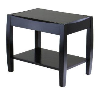 Winsome Wood Cleo End Table   End Tables Living Room