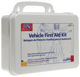 First Aid Only Vehicle Bulk First Aid Kit, 94 Piece Kit Health & Personal Care