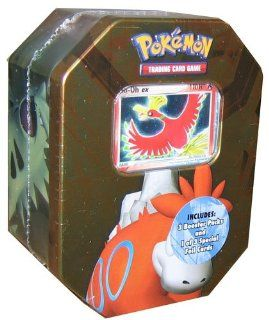 Pokemon 2008 EX Classic Tin Ho Oh EX   3 packs + Foil card Toys & Games