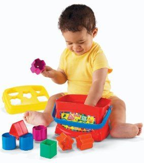 Fisher Price Brilliant Basics Baby's First Blocks Toys & Games