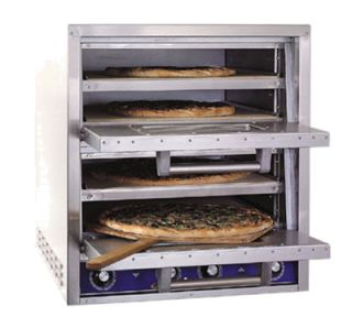 Bakers Pride Quadruple Deck Electric Countertop Pizza/Pretzel Oven, 208v/1