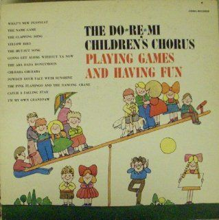 The Do*Re*Mi Children's Chorus Playing Games And Having Fun Music